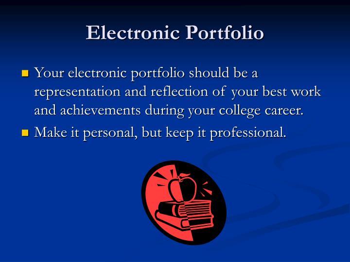 Electronic Portfolio