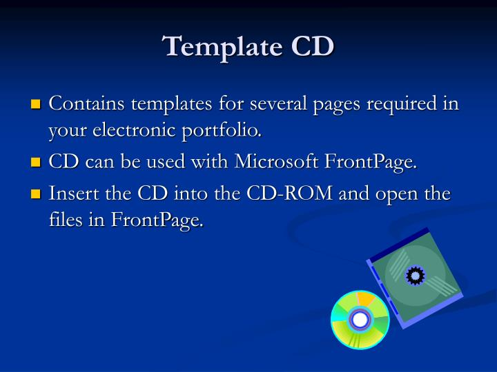 Template CD