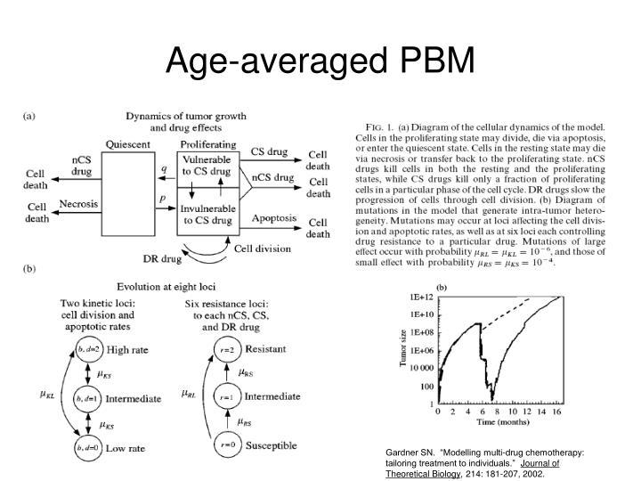 Age-averaged PBM