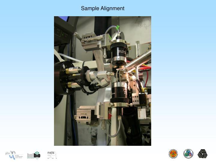 Sample Alignment
