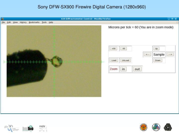 Sony DFW-SX900 Firewire Digital Camera (1280x960)