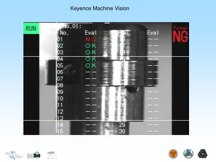 Keyence Machine Vision