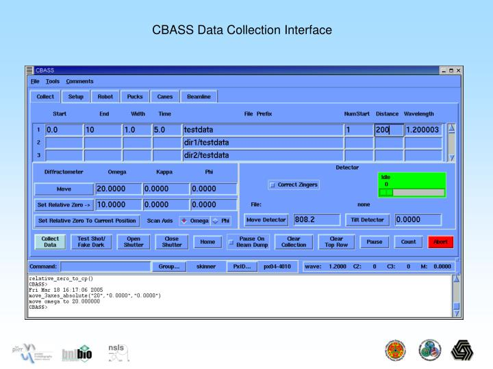 CBASS Data Collection Interface