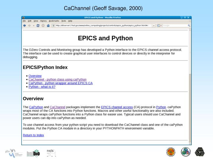 CaChannel (Geoff Savage, 2000)