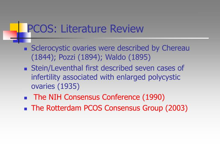 PCOS: Literature Review