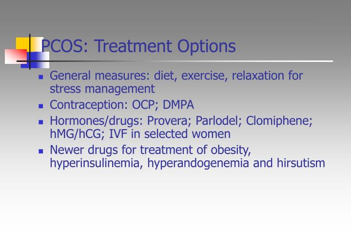 PCOS: Treatment Options