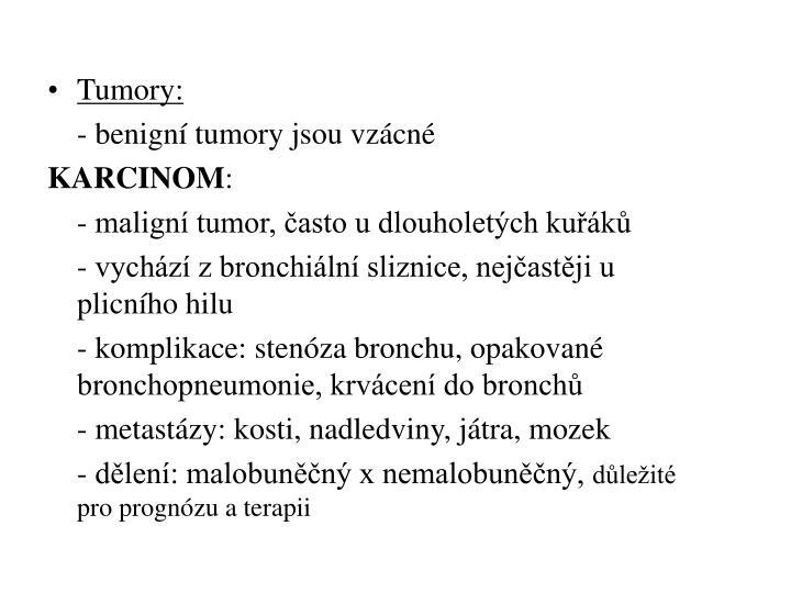 Tumory: