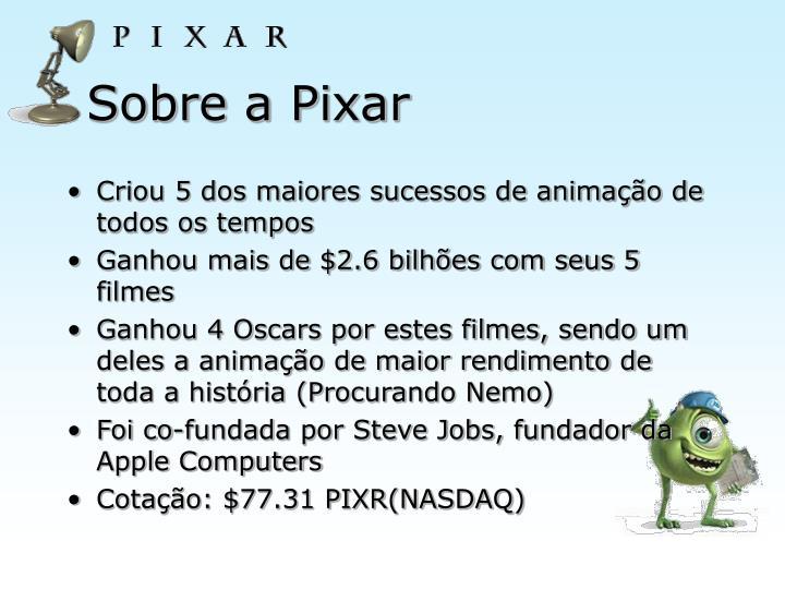 Sobre a Pixar