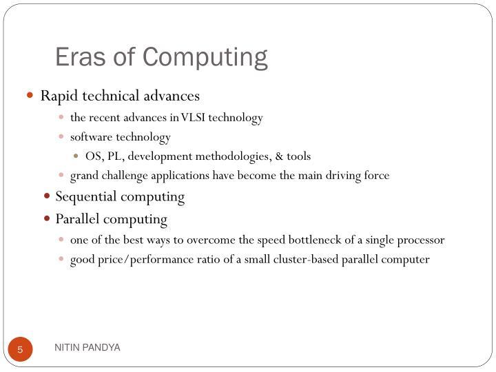 Eras of Computing