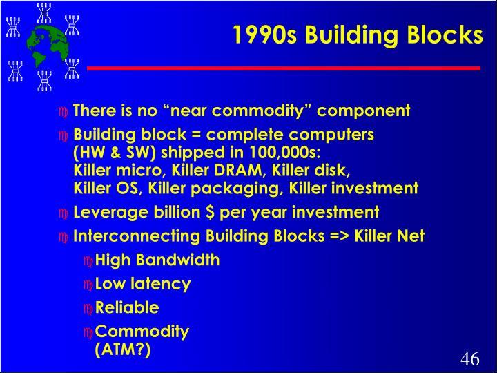 1990s Building Blocks