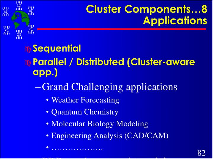 Cluster Components…8