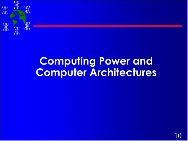 Computing Power and