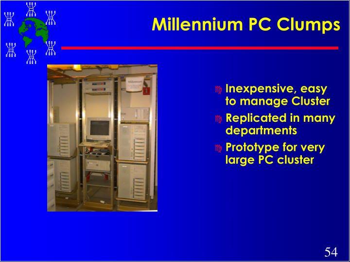 Millennium PC Clumps