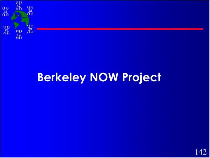 Berkeley NOW Project