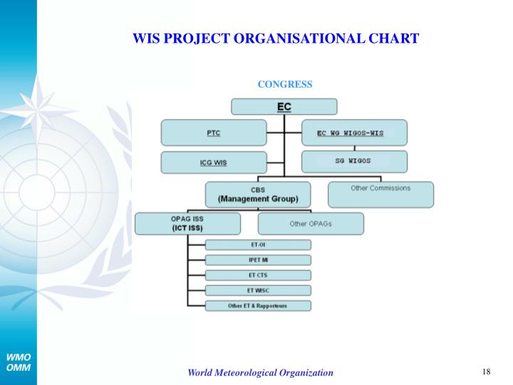 WIS PROJECT ORGANISATIONAL CHART