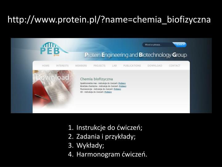 http://www.protein.pl/?name=chemia_biofizyczna