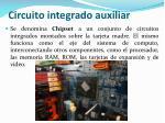 circuito integrado auxiliar
