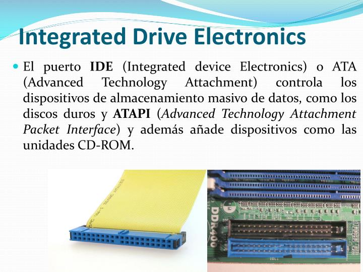 Integrated Drive Electronics