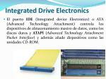 integrated drive electronics