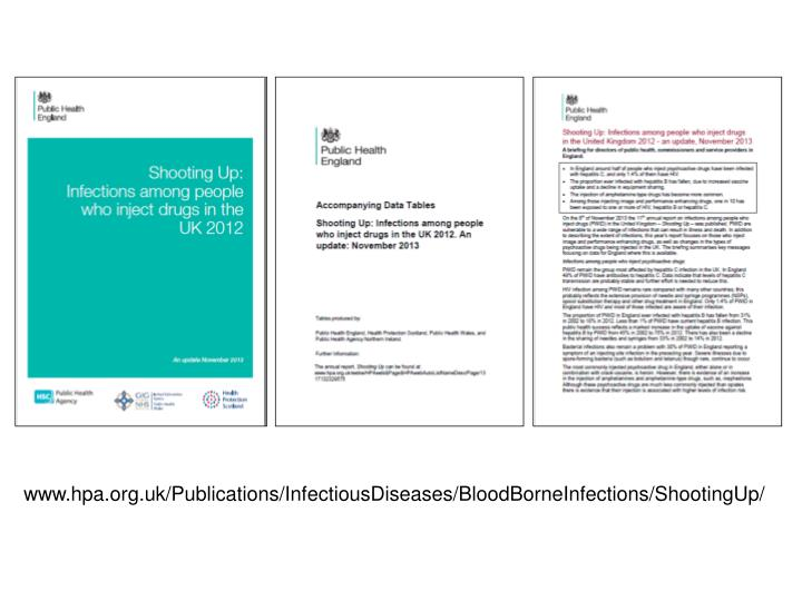 www.hpa.org.uk/Publications/InfectiousDiseases/BloodBorneInfections/ShootingUp/