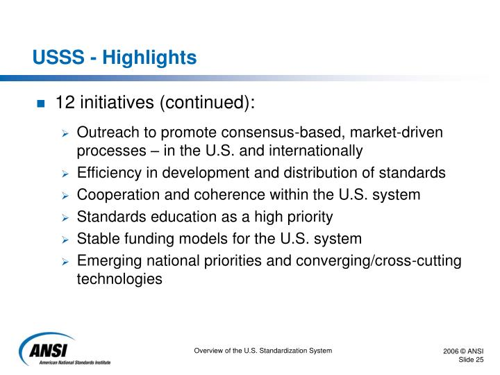 USSS - Highlights