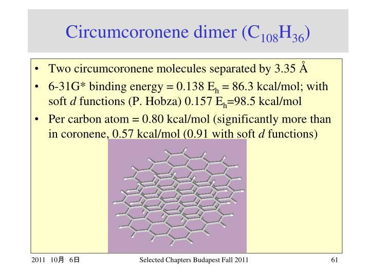 Circumcoronene dimer (C