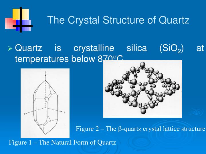 The Crystal Structure of Quartz