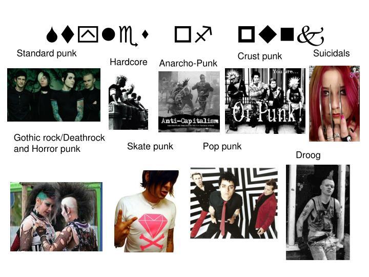 Styles of punk