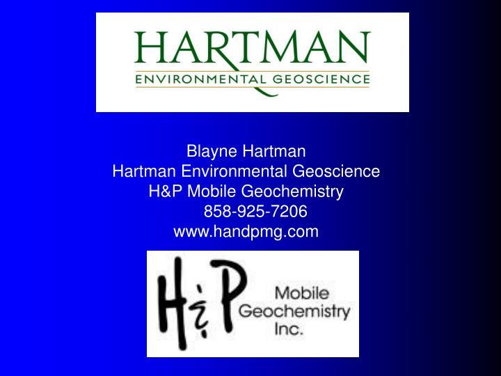 Blayne Hartman