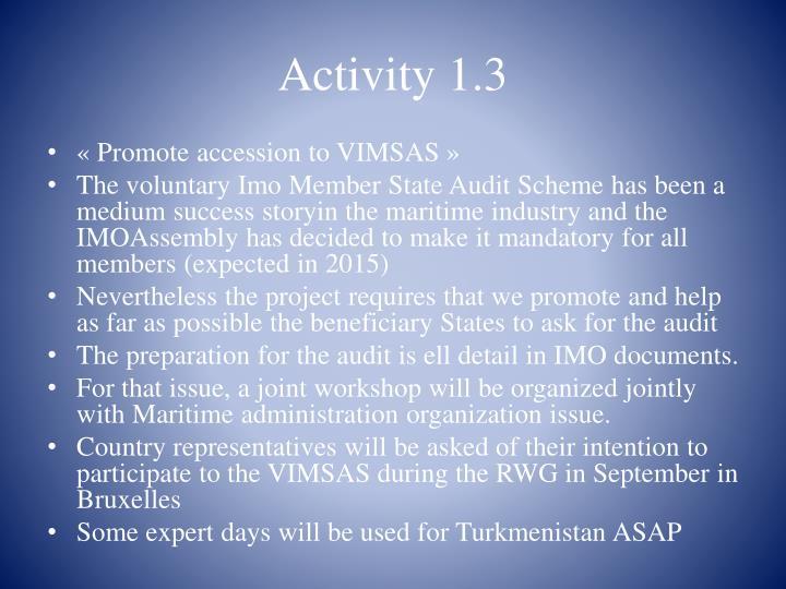 Activity 1.3