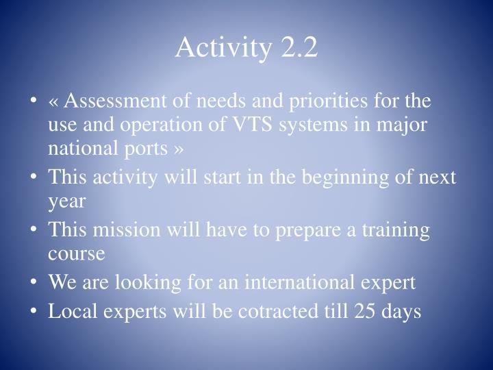 Activity 2.2