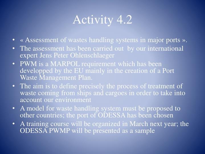 Activity 4.2