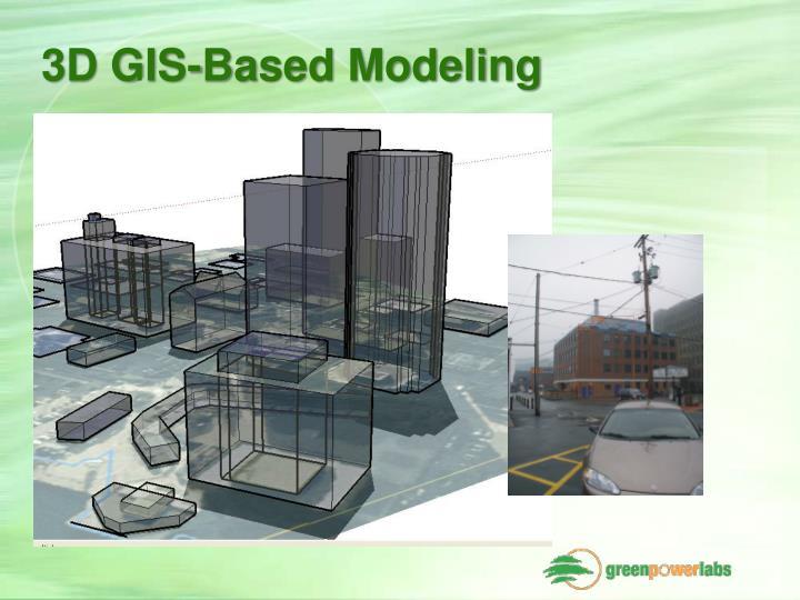 3D GIS-Based Modeling