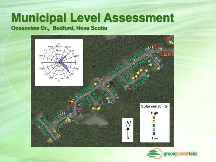 Municipal Level Assessment