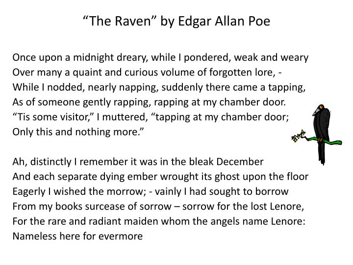 """The Raven"" by Edgar Allan Poe"
