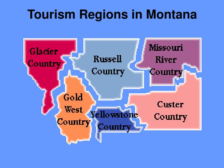 Tourism Regions in Montana