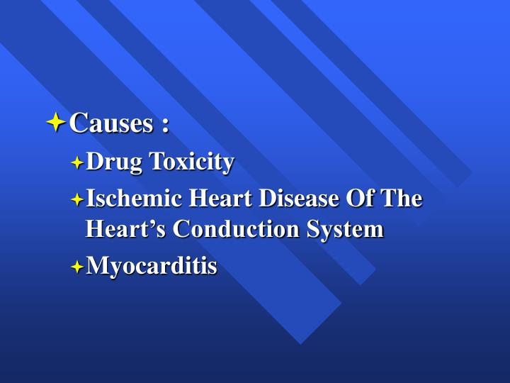 Causes :