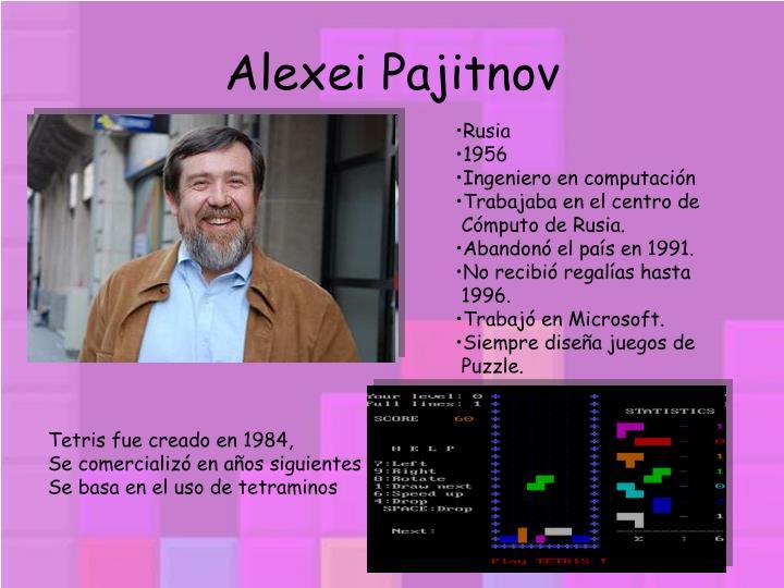 Alexei Pajitnov