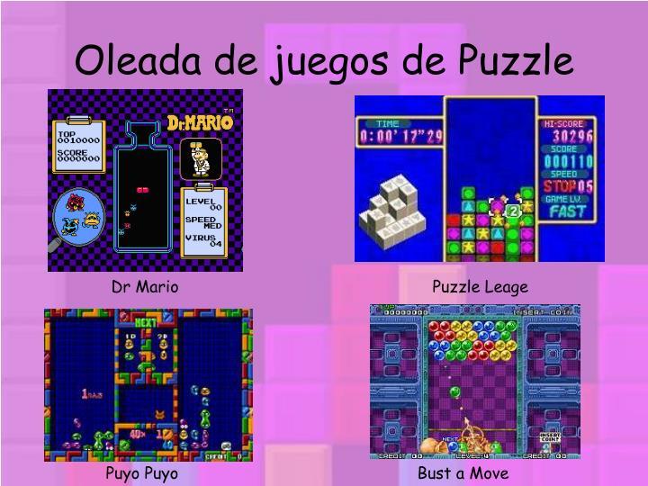 Oleada de juegos de Puzzle