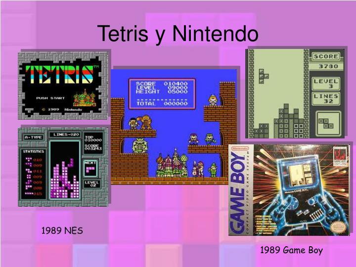 Tetris y Nintendo
