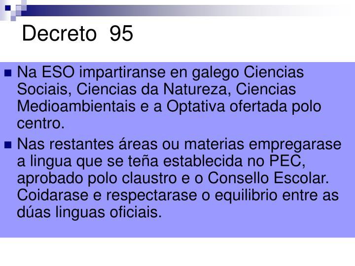 Decreto  95