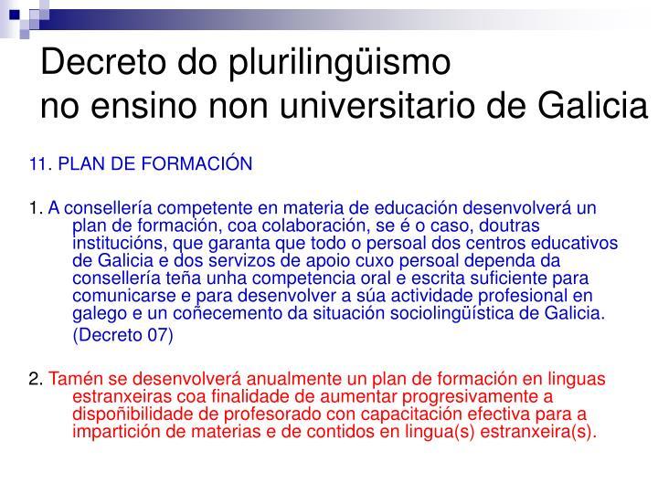 Decreto do plurilingüismo