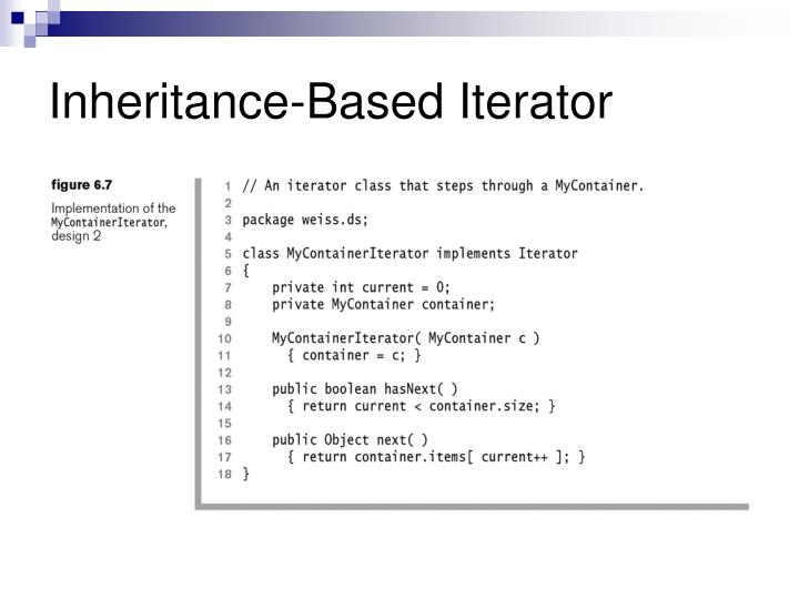 Inheritance-Based Iterator