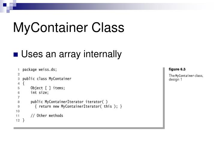 MyContainer Class
