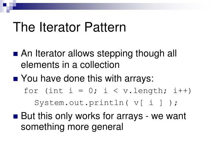 The Iterator Pattern