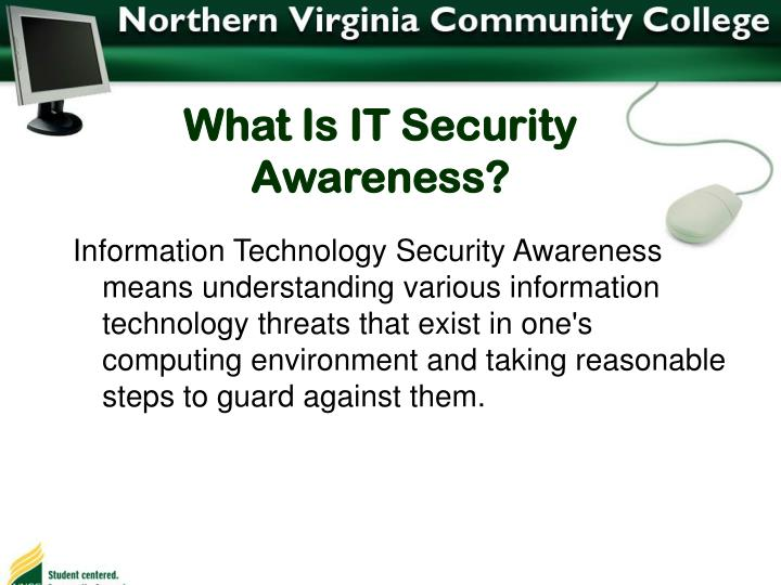What Is IT Security Awareness?