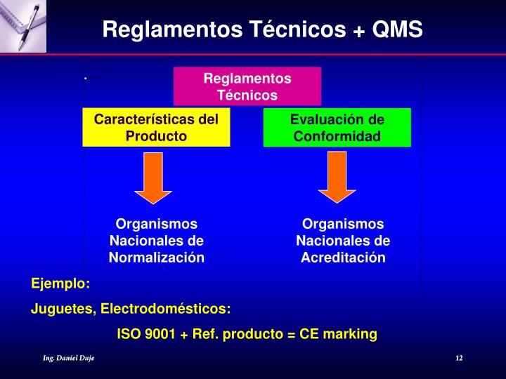 Reglamentos Técnicos + QMS