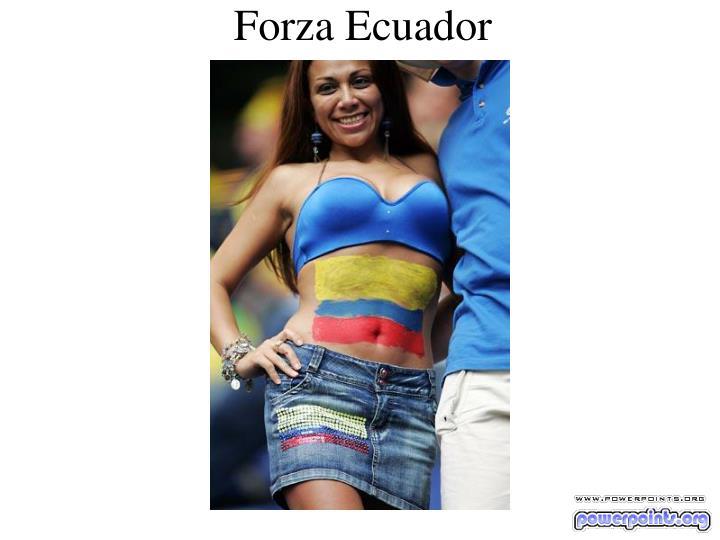 Forza Ecuador