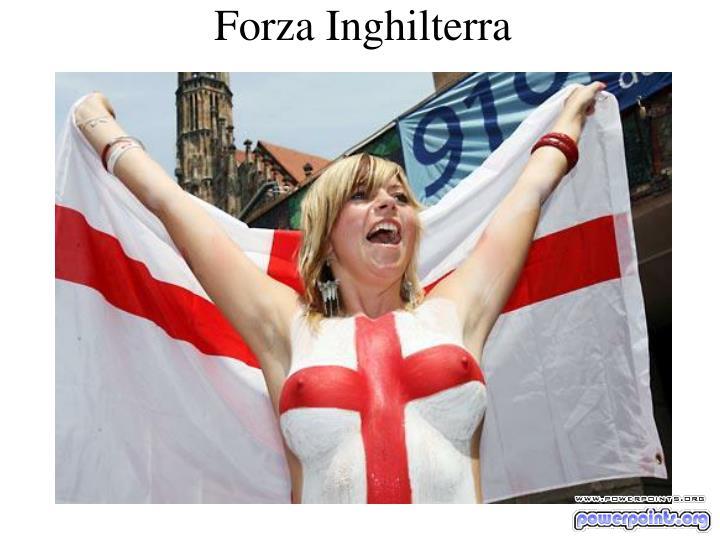 Forza Inghilterra