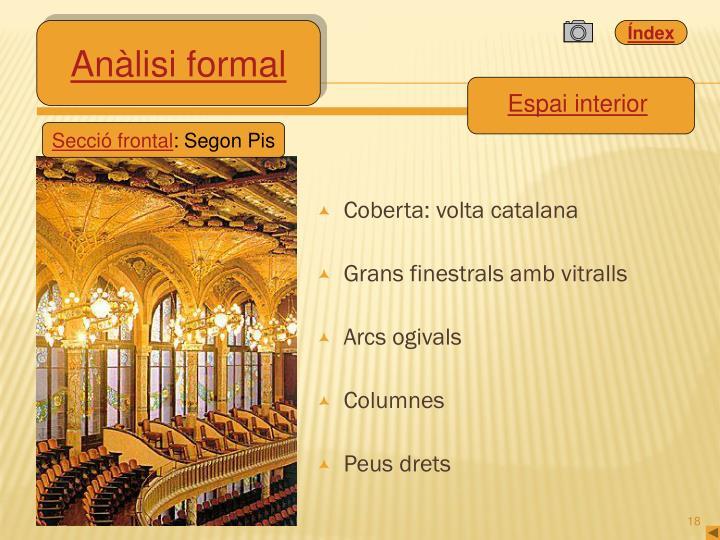 Coberta: volta catalana